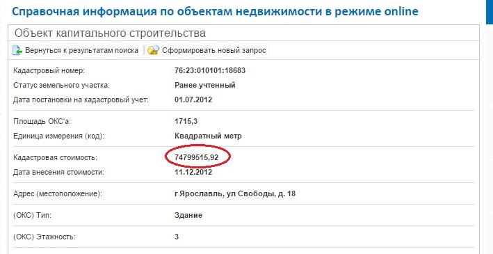 налог за квартиру ярославль